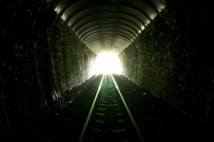 Reaching the end of the story can be like searching for the light at the end of the tunnel.